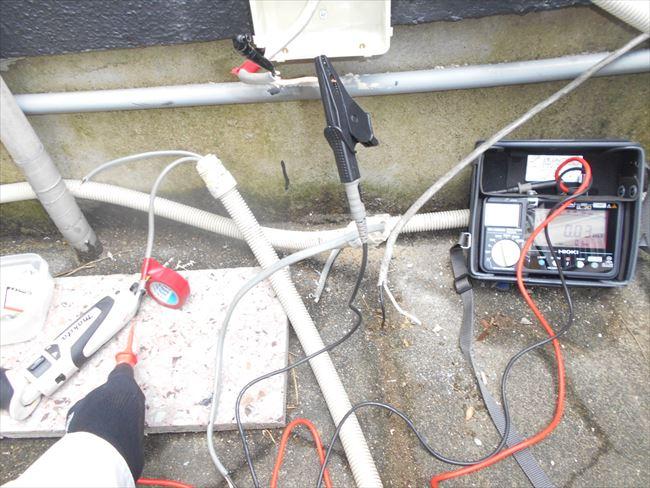漏電箇所のチェック